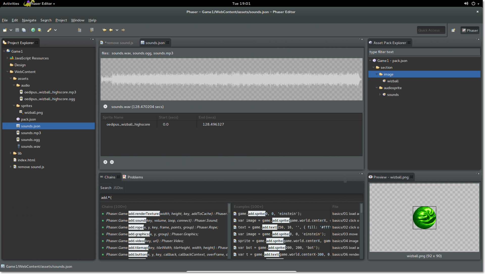 Phaser News Phaser Editor Is Available For Linux Users