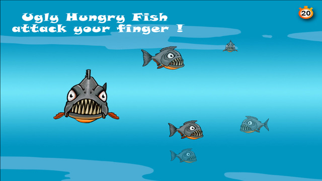 Phaser news ugly hungry fish the ugly hungry fish are for Hungry fish game